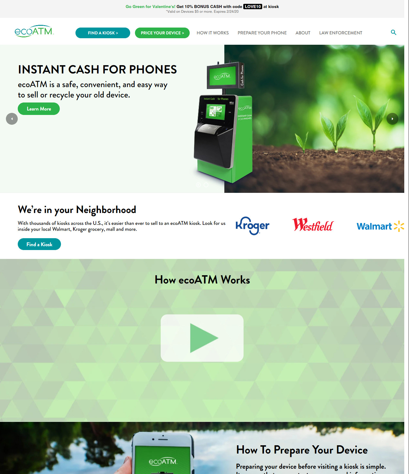 EcoATM New Home Page